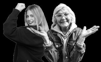 Frauen verschiedenen Alters mit verschiedenen gesundheitlichen Wünschen