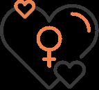 Icon erfülltes Sexualleben für Sie und Ihn