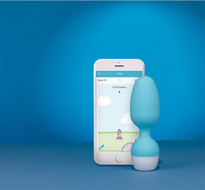 Emy sonde et application rééducation du périnée à domicile éviter les fuites urinaires